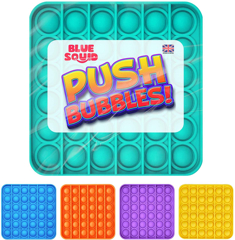 Push Pop Bubble – Green Square