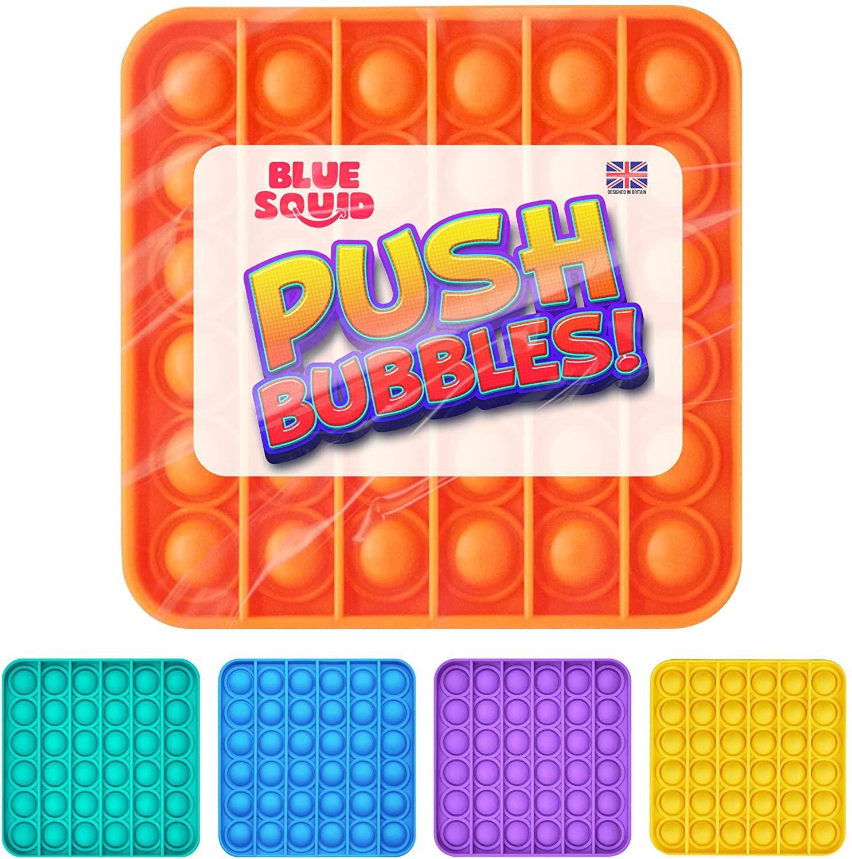 Push Pop Bubble – Orange Square
