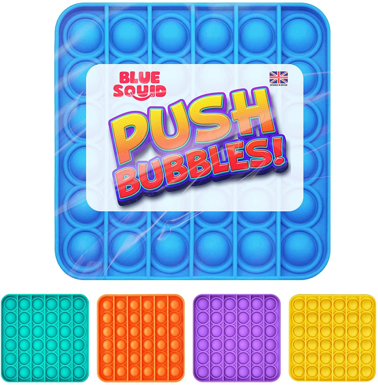 Push Pop Bubble – Blue Square