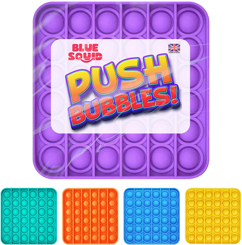 Push Pop Bubble – Purple Square