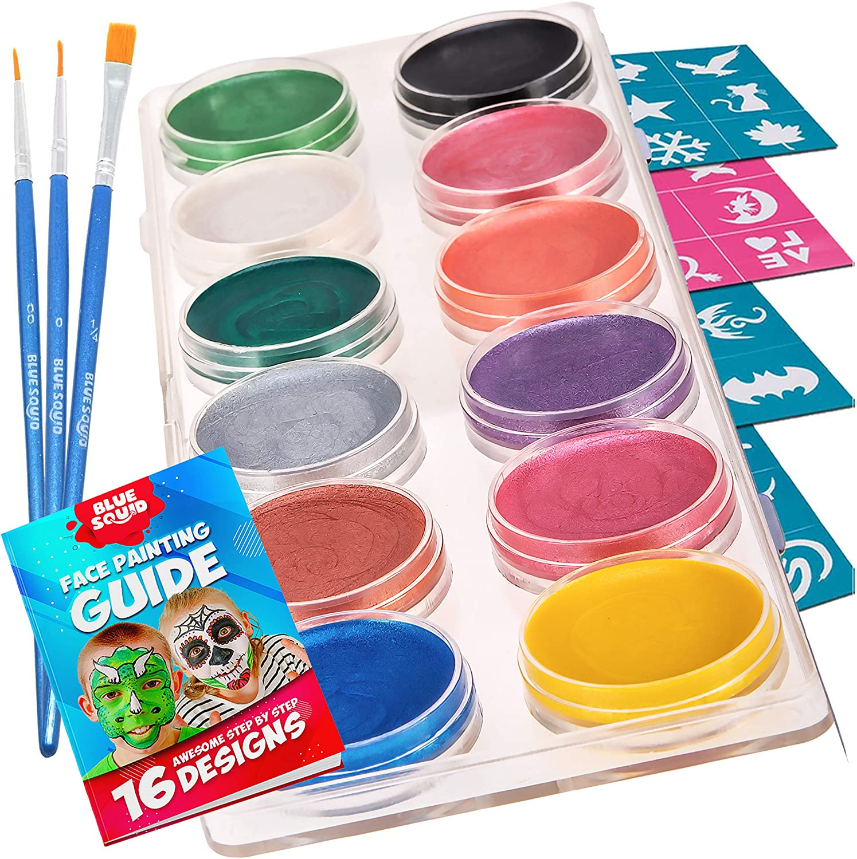 12 Metallic Colour Palette