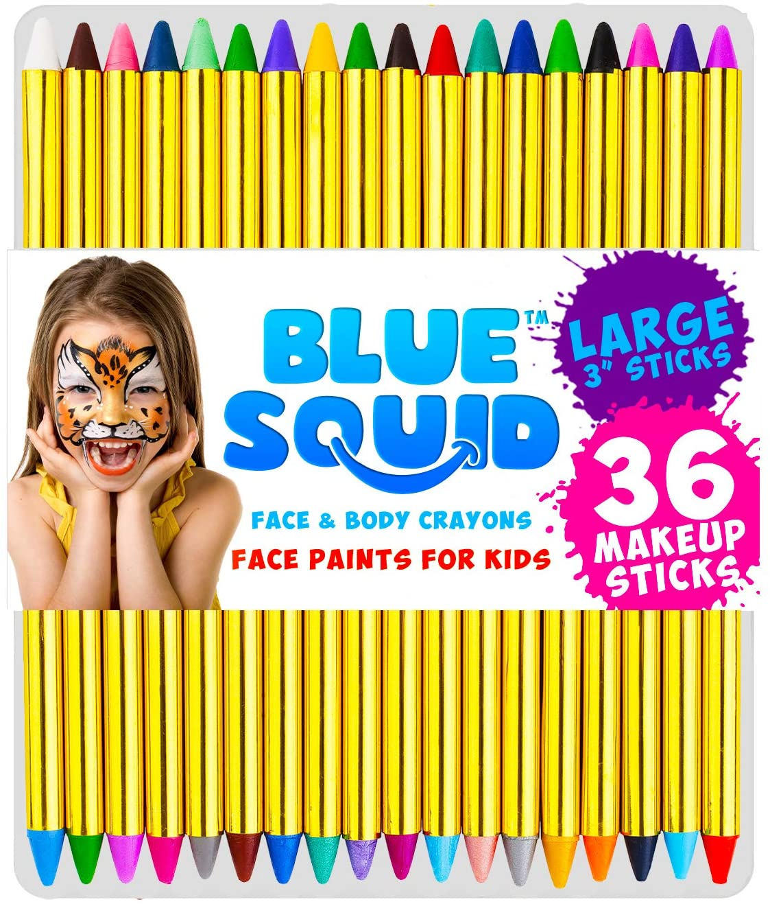 Face Paint Crayons for Kids