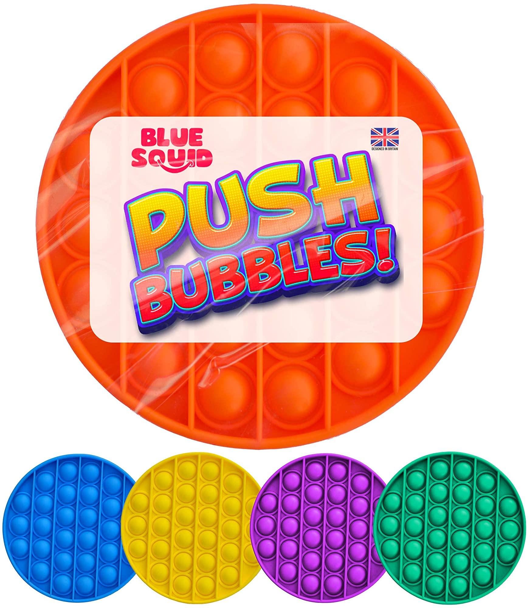 Push Pop Bubble – Orange Circle