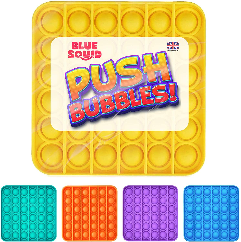 Push Pop Bubble – Yellow Square