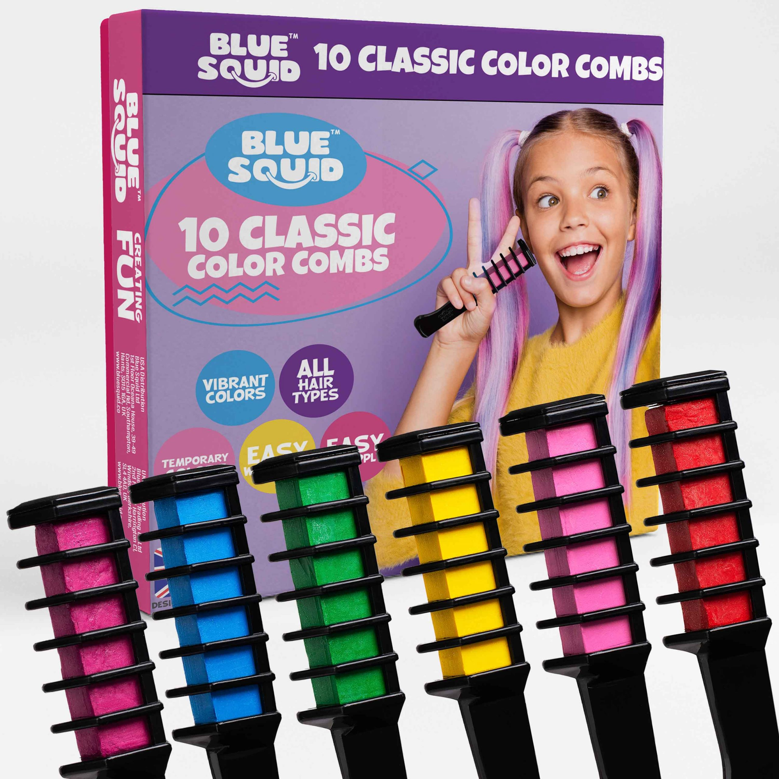 10 Classic Color Chalk Combs